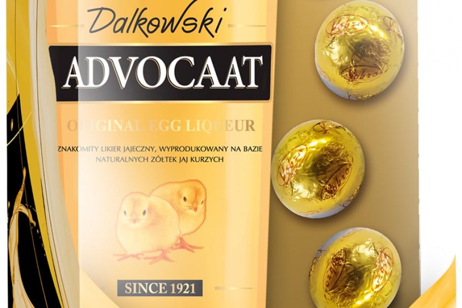 Likier Dalkowski Advocaat z czekoladkami