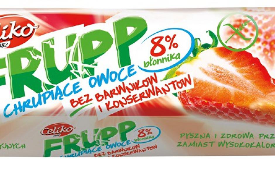 Liofilizowane przekąski marki Frupp