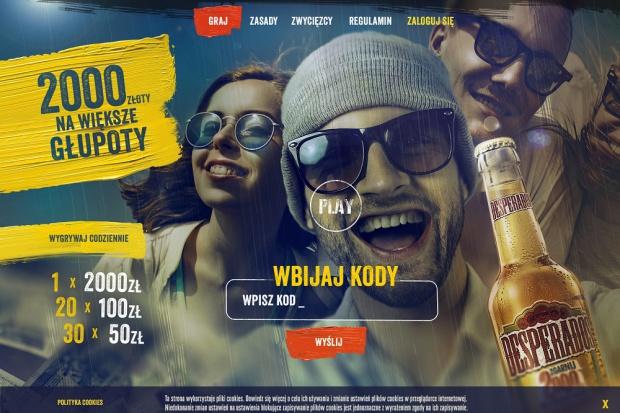 Akcja promocyjna piwa Desperados