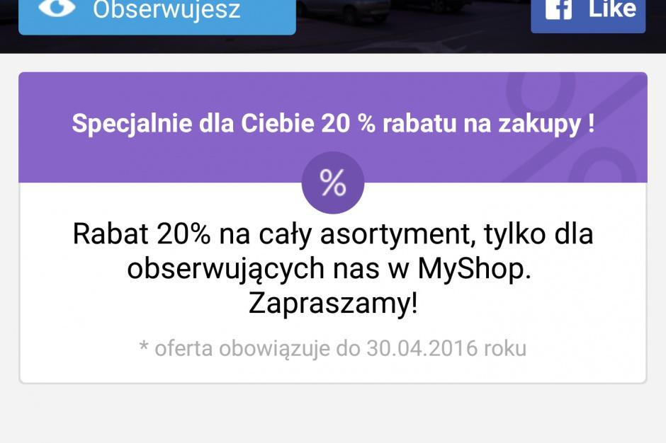 Centrum Modo i sieć Sferis z aplikacją MyShop.mobi