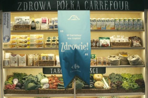"""Linia produktów """"Jakość z Natury Carrefour"""" generuje 31 proc. wzrostu sprzedaży rdr"""