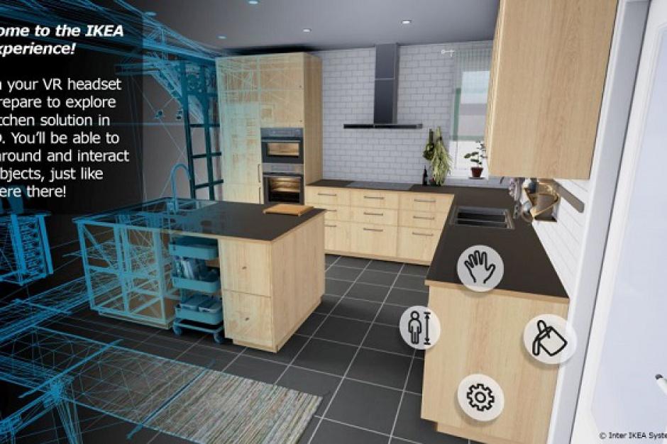 IKEA z aplikacją umożliwiającą wizytę w wirtualnej kuchni