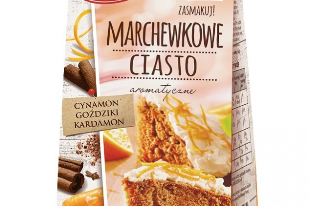 Marchewkowe ciasto Delecta