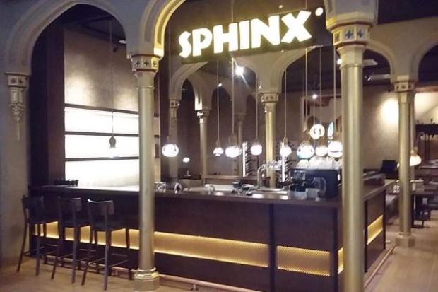 Sphinx na wrocławskim doworcu największym lokalem sieci