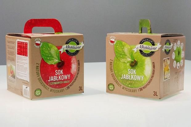 Sok jabłkowy (NFC) marki Magdalene - pierwszy w segmencie premium