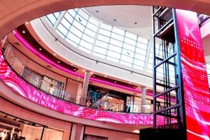 Galeria Kazimierz instaluje na suficie interaktywne ekrany