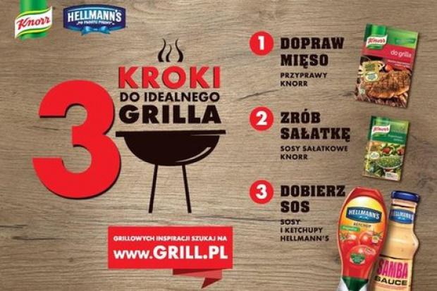 Grillowa akcja marek Knorr i Hellmann's