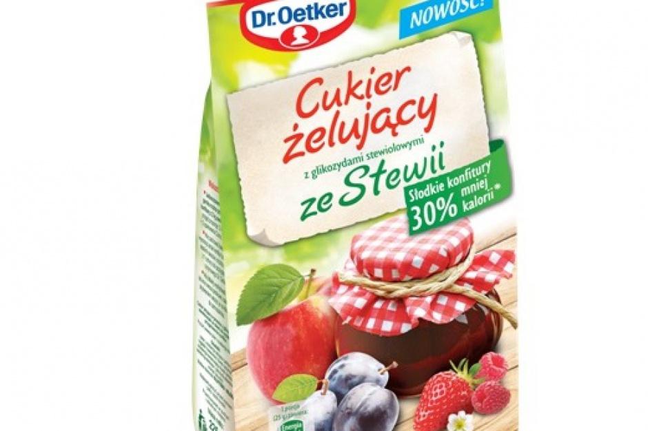 Cukier żelujący ze Stewią od Dr. Oetkera