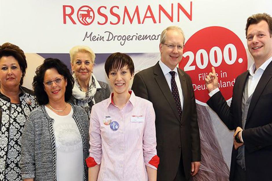 Rossmann otworzył 2000. sklep w Niemczech. W Polsce ma już 1100 placówek