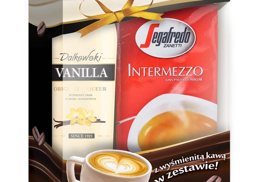 Likier Dalkowski Vanilla w zestawie z kawą