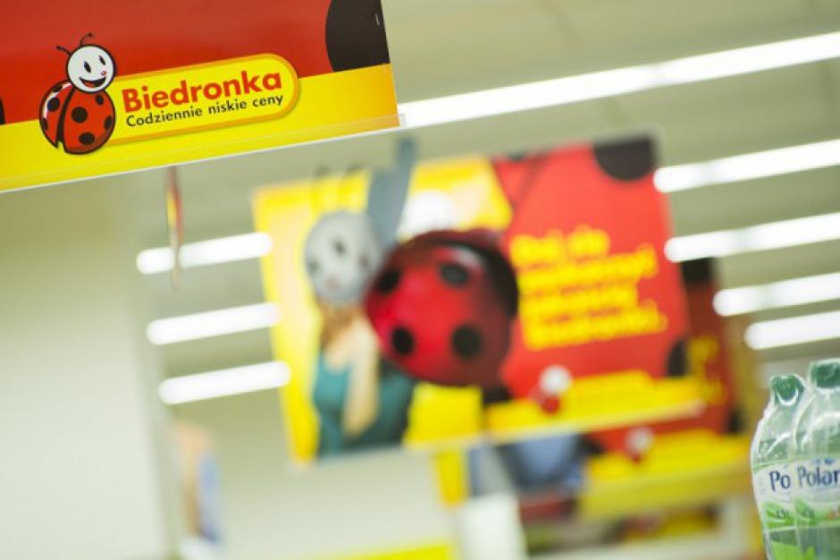 2,28 mld euro sprzedaży Biedronki w I kw., LfL w górę o 7,6 proc.