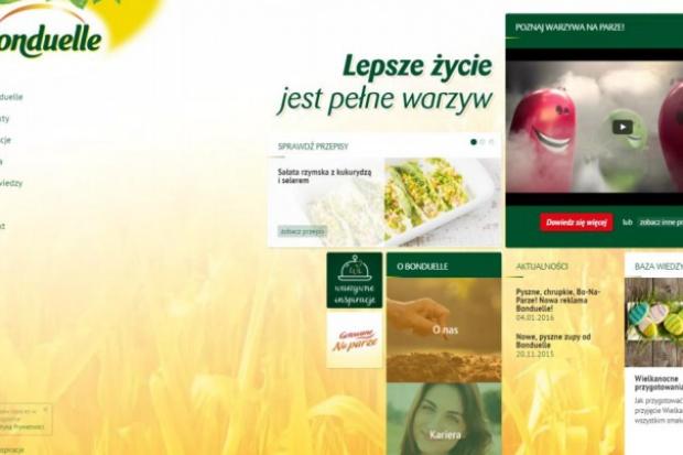 Bonduelle promuje warzywa w internecie