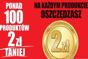 Biedronka odpowiada na promocję Lidla - 100 produktów 2 zł taniej