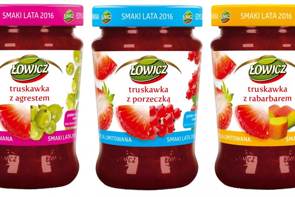 Limitowana edycja dżemów od Łowicza
