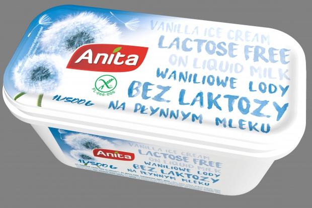 Lody bez laktozy od marki Anita