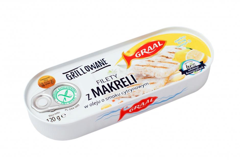 Grillowane filety z makreli Graal