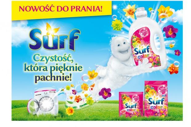 Unilever wprowadza nową markę produktów do prania Surf
