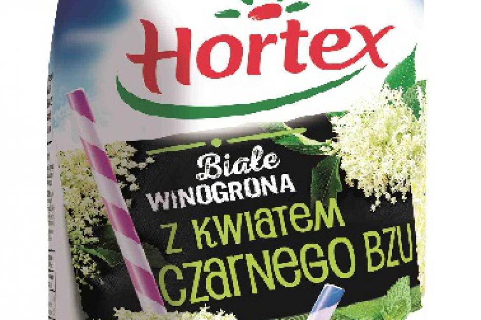 Nowe smaki napojów Hortex na lato
