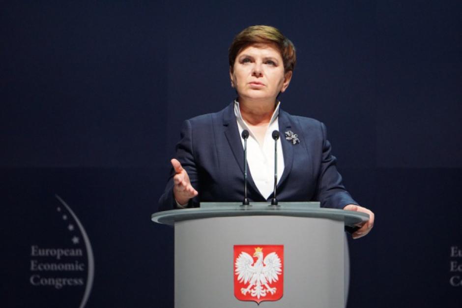 Premier Beata Szydło na EEC: Chcemy budować markę Polski