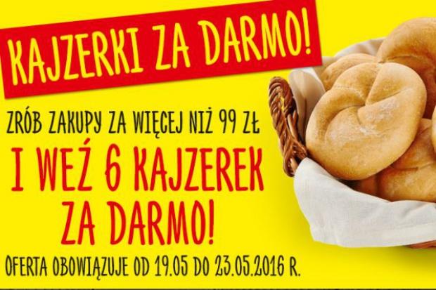 Nowa akcja Biedronki - Zrób zakupy za minimum 99 zł, a bułki otrzymasz gratis