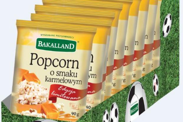 Popcorn dla kibiców od firmy Bakalland