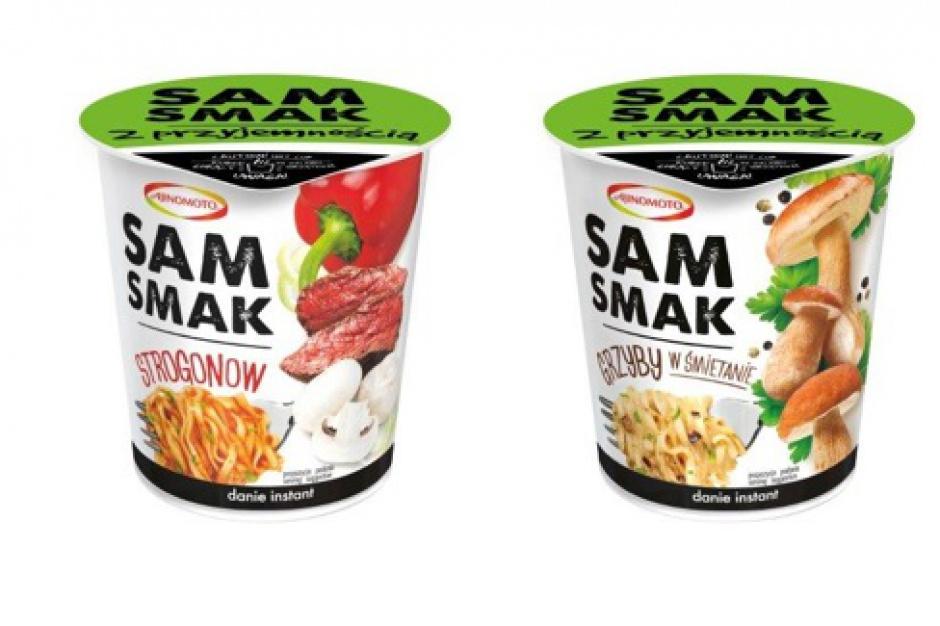 Dania instant z makaronem w kubku od marki Samsmak