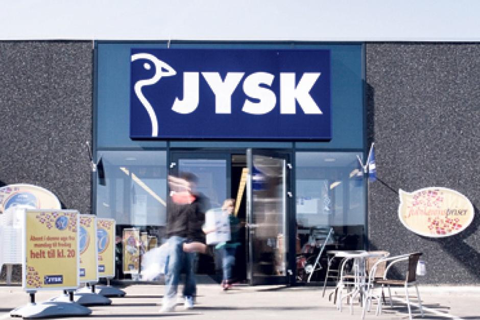 Jysk otwiera pięć sklepów w dwa miesiące