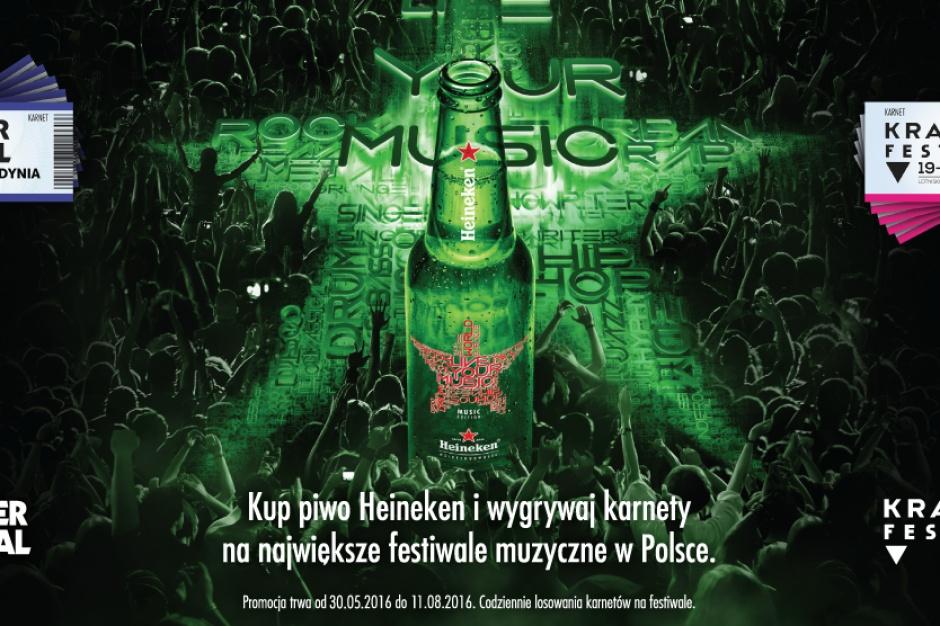 Muzyczna loteria marki Heineken