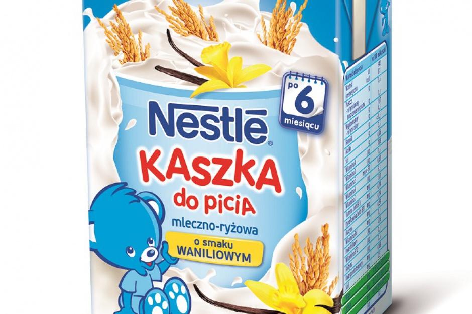Nowa kaszka do picia Nestlé