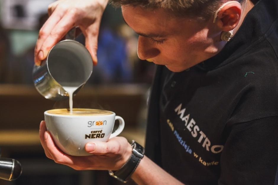 Green Caffe Nero wchodzi do Krakowa