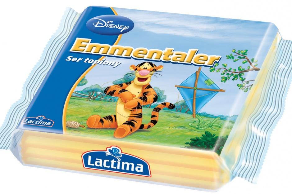 Sery Lactima z postaciami z Kubusia Puchatka
