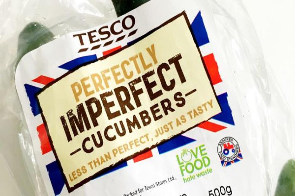 Tesco wprowadza do oferty krzywe ogórki. Seria niestandardowych warzyw pod marką własną