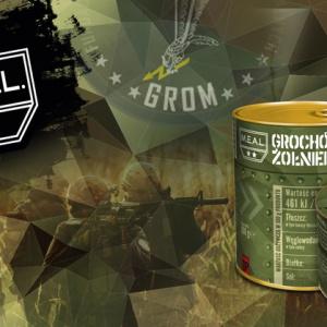 M.E.A.L. - pierwsza w Polsce spożywcza marka militarna