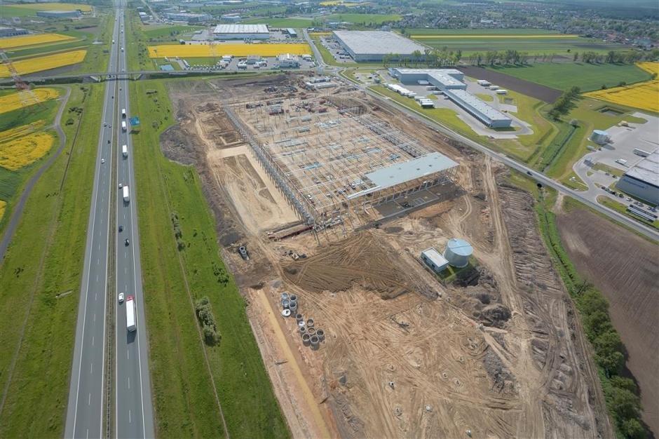 Tesco buduje 3. centrum dystrybucji w Polsce