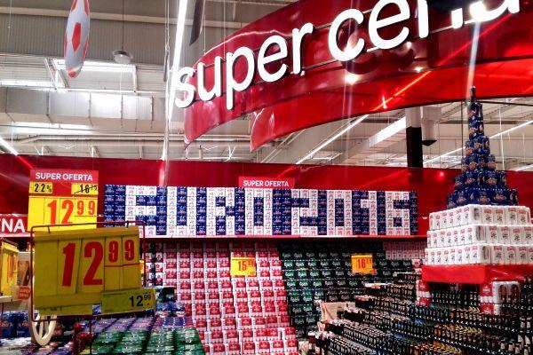 Sprawdź hity sprzedaży Carrefoura przed meczem Polska - Szwajcaria