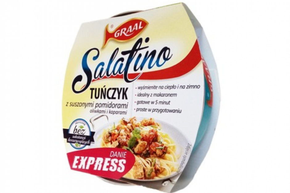 Salatino EXPRESS i nowe smaki SALATINO od marki Graal