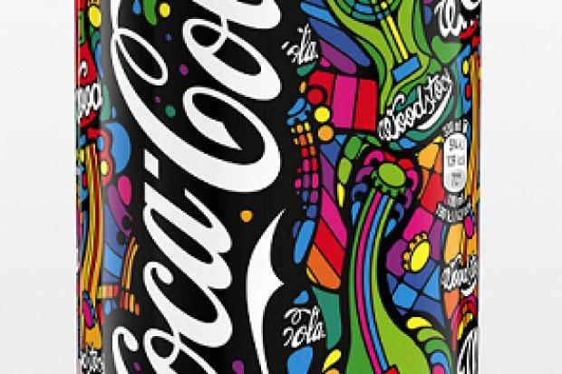 Woodstockowa edycja puszki Coca-Cola