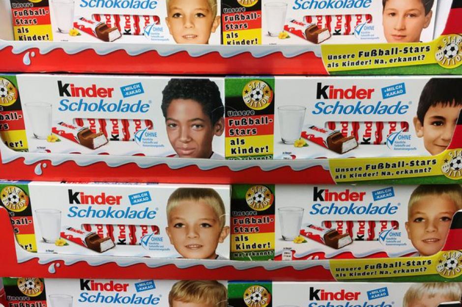 Kinder Czekolada może zostać wycofana ze sprzedaży