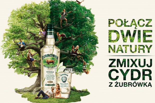 CEDC rozpoczęło działania reklamowe promujące wódkę Żubrówka Bison Grass