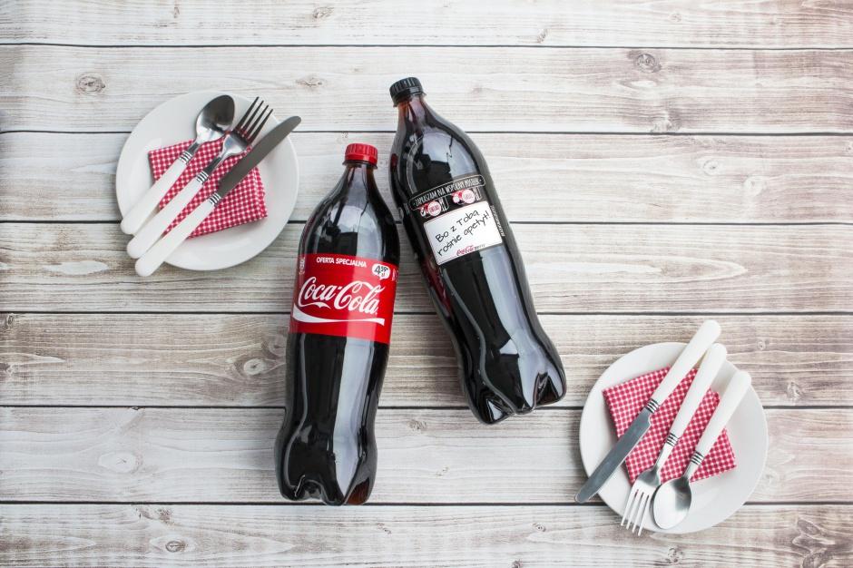 Nowe etykiety i konkurs konsumencki Coca-Coli
