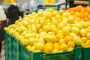 Koszyk cen: Rekordowo wysokie ceny cytryn w sklepach franczyzowych