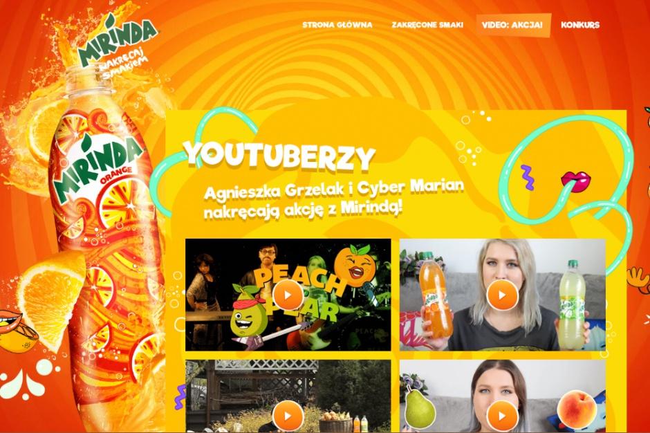 Mirinda promuje nowy smak napoju