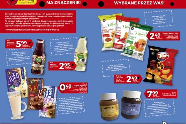 Ponad 8 tys. klientów wybrało ok. 40 nowych produktów do oferty Biedronki