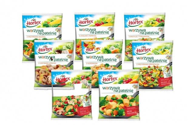 Hortex odświeża recepturę i opakowania Warzyw na patelnię