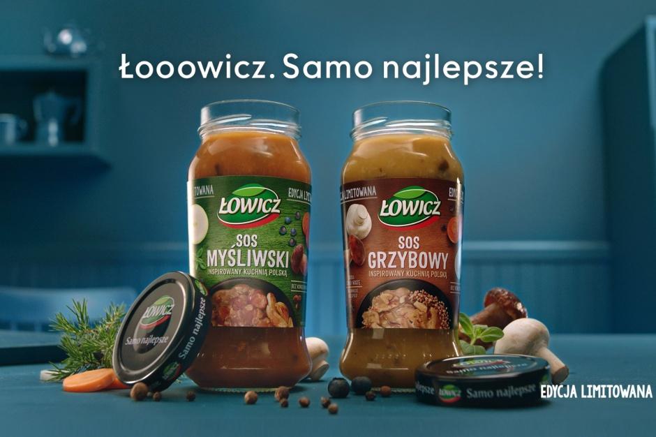 Łowicz wspiera kampanią limitowaną edycję sosów
