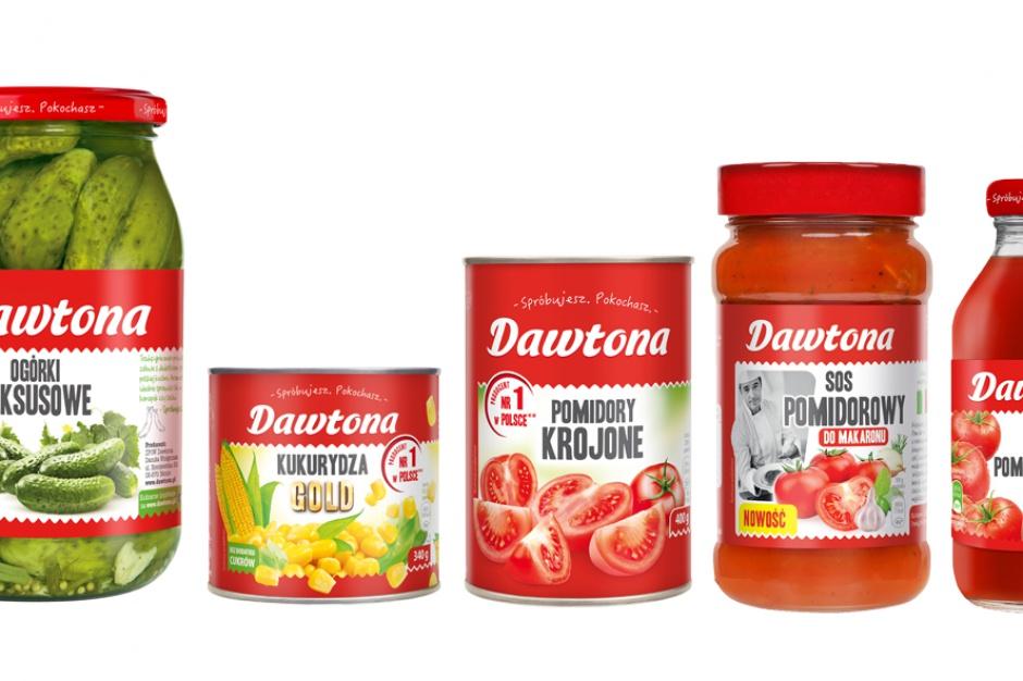 Produkty Dawtony w nowej odsłonie