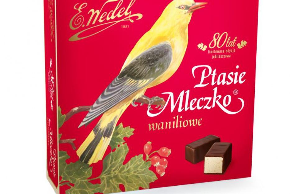 E.Wedel świętuje urodziny Ptasiego Mleczka