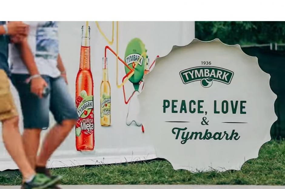 Marka Tymbark promuje się podczas festiwali
