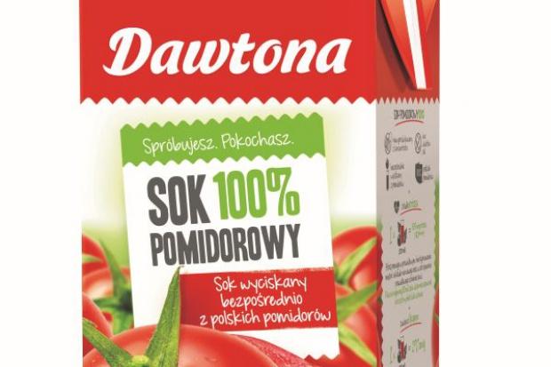 Sok pomidorowy 100% NFC od Dawtony