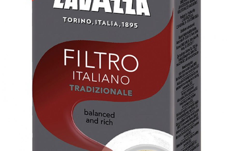 Filtro Italiano - nowa kawa mielona marki Lavazza